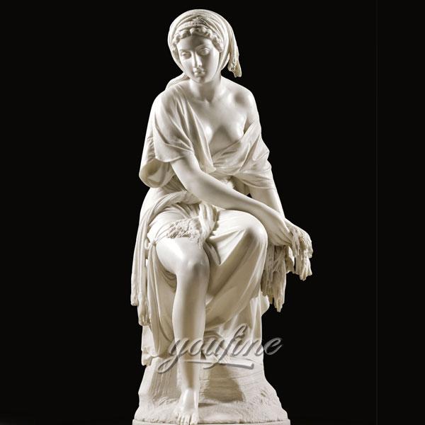 Best sculptures of Giovanni Battista Lombardi of Ruth