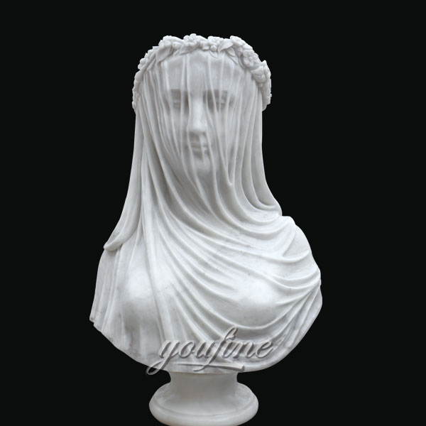 Classical famous beautiful bust statues of Giovanni Strazza for home decor