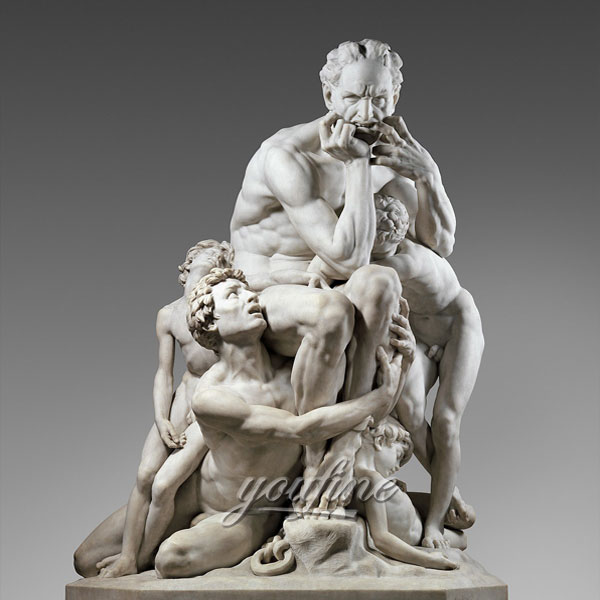 Famious art sculptures around the world of Ugolino and His Sons by carpeaux design
