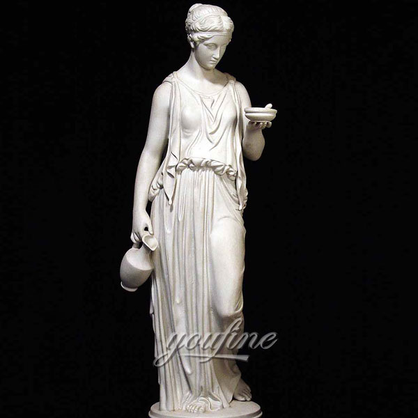 Famous Greek Sculpture of PARIAN GREEK LADY for home decor