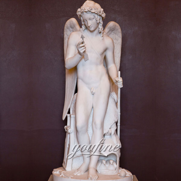 Famous art sculptures Cupid from Thorvaldsen Museum angel Marble Statues for garden decoration