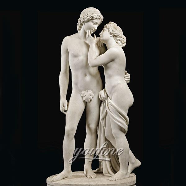 Famous art sculptures life size Venus and Adonis statues for sale