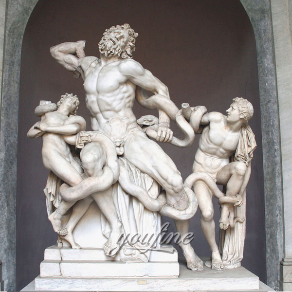 Famous art sculptures of Laocoon and His Sons for sale