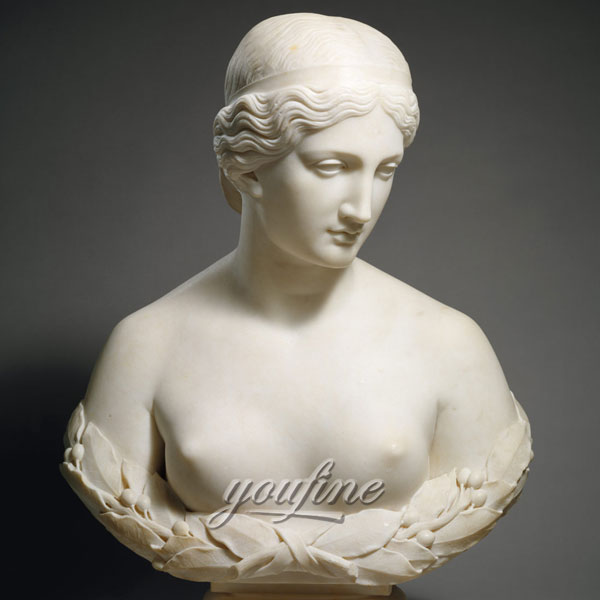 Famous bust marble sculptures of harriet hosmer daphne for home decor