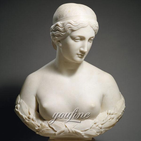 Famous bust marble sculptures of harriet hosmer daphne for home decor