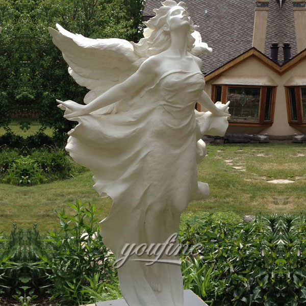 Famous large sexy angels statues for garden decor