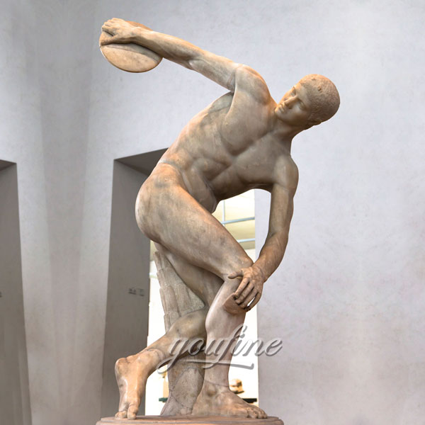 Famous sculptures around the world The Discus Thrower (Discobolus) for sale
