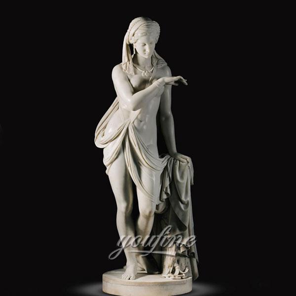 Home decor famous marble sculptures Scipione Tadolini for sale