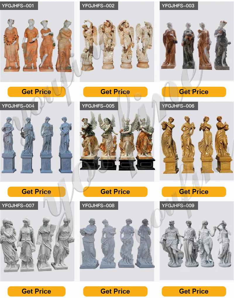 High Quality Marble Four Seasons Goddesses Statues