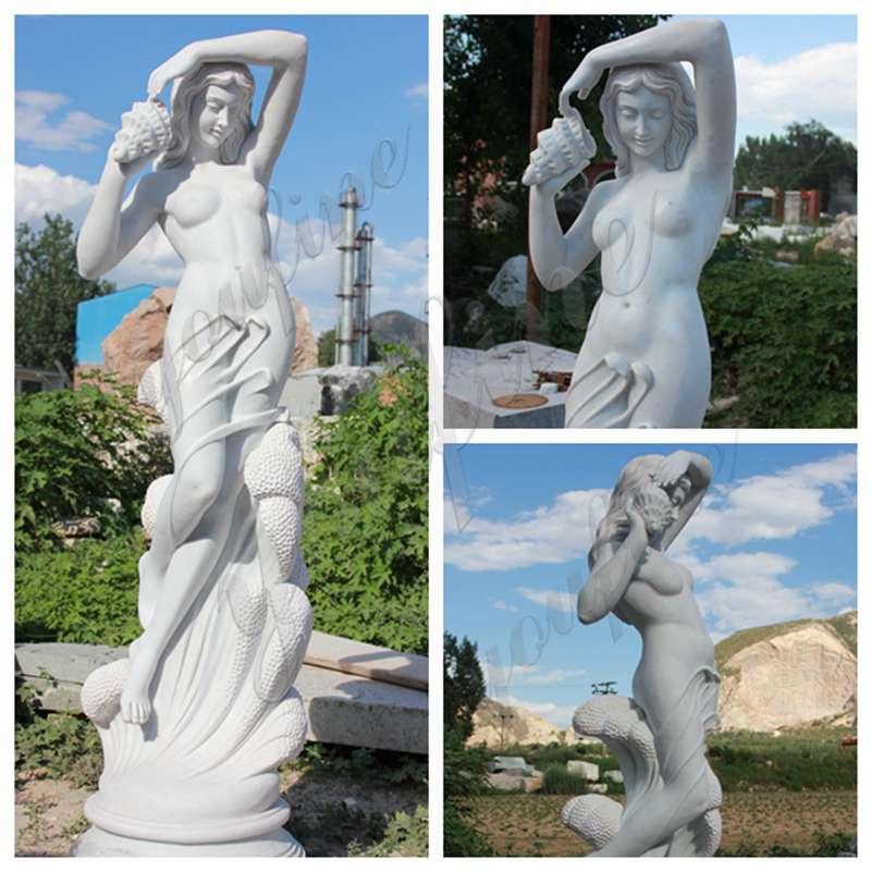 Famous Art Sea Nymph Marble Sculpture