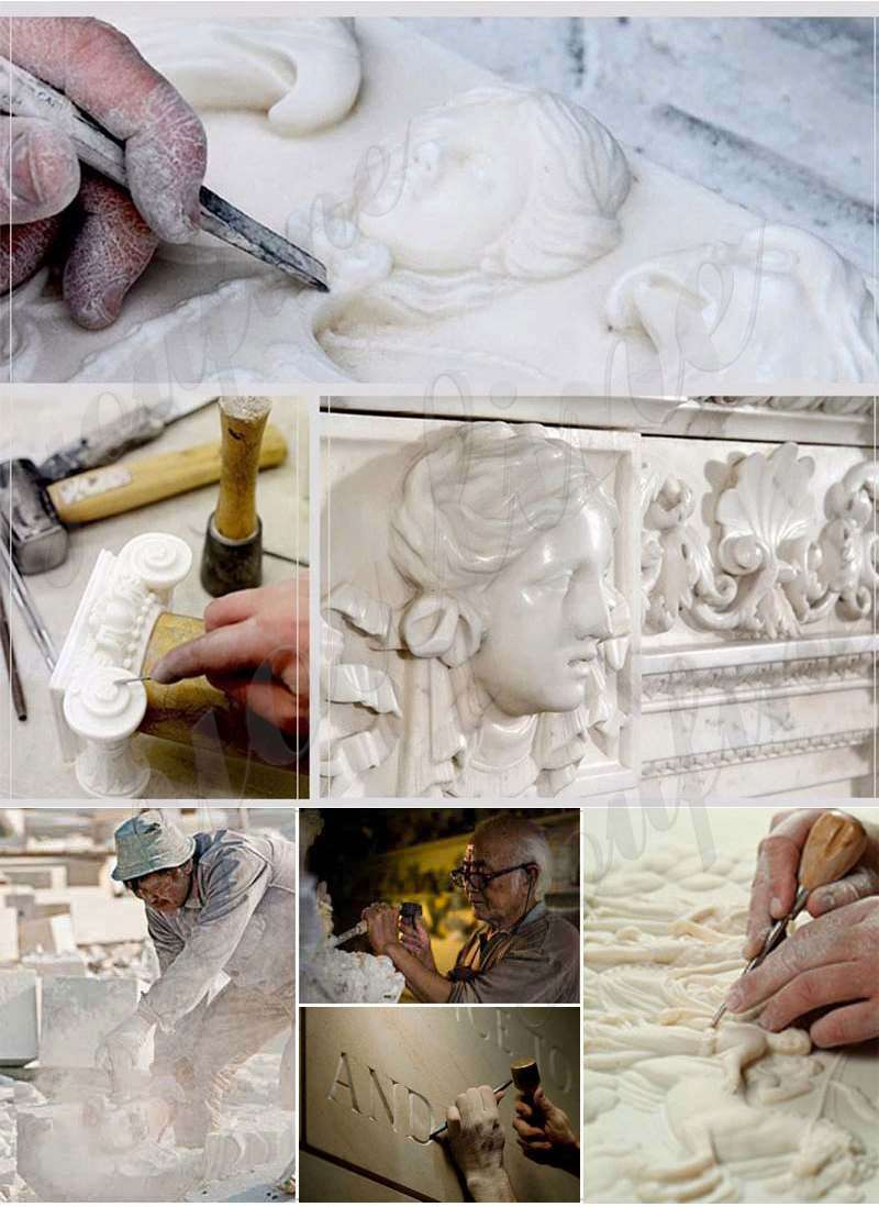 Four Seasons Marble Statues from Factory Supply